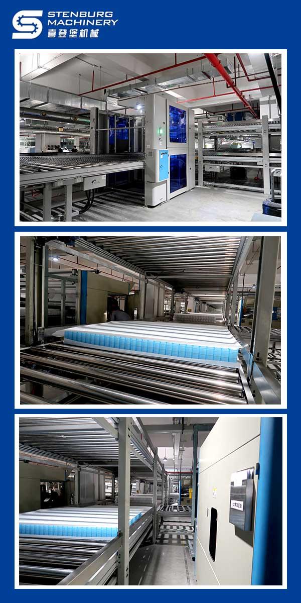 Автоматическая линия по производству матрасов 3